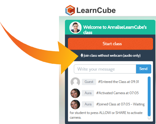 learncube-audio-only-classes