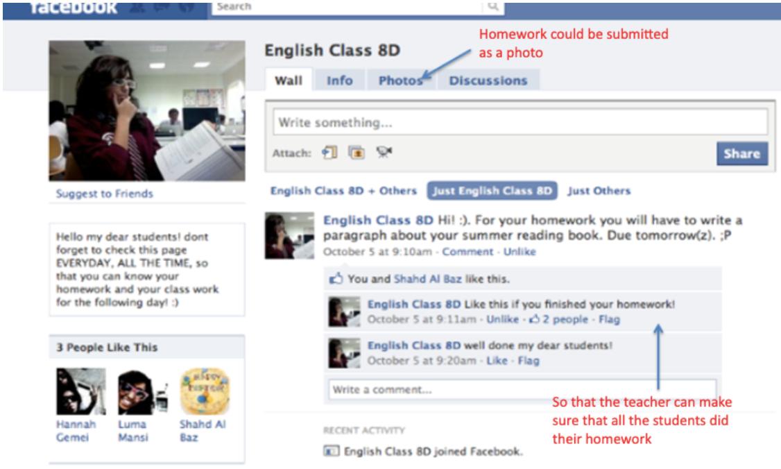 facebook-homework