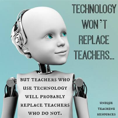 will technology replace teachers