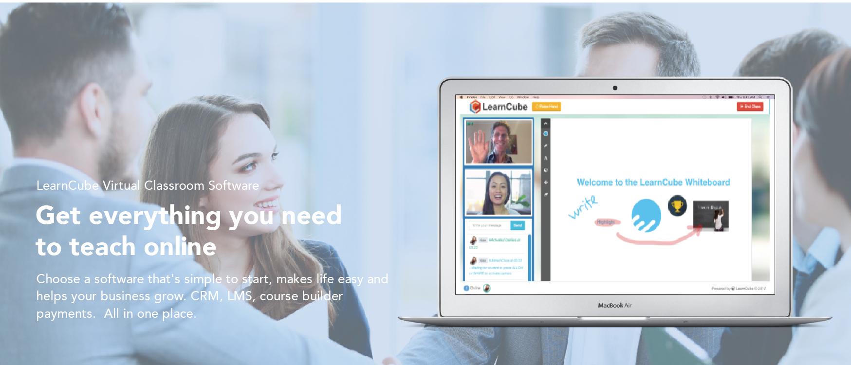 LearnCube Virtual Classrooms