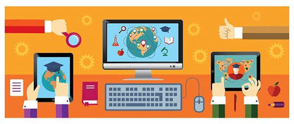 Online schools learning management system