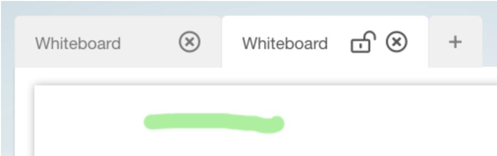 Whiteboard Lock