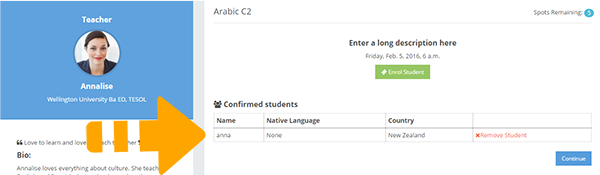 learncube-confirm student enrolment