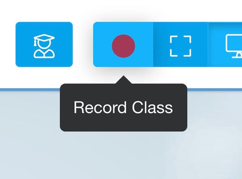 online classroom recordings
